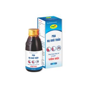 PQA hạ khô thảo giúp giảm triệu chứng viêm mũi dị ứng